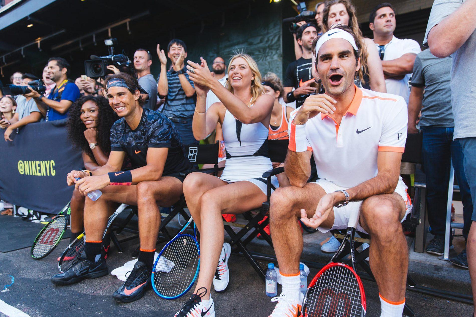 Nike réunit ses plus grands ambassadeurs tennis