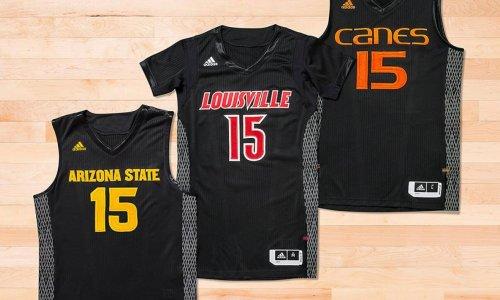 adidas lance des maillots réfléchissants en NCAA