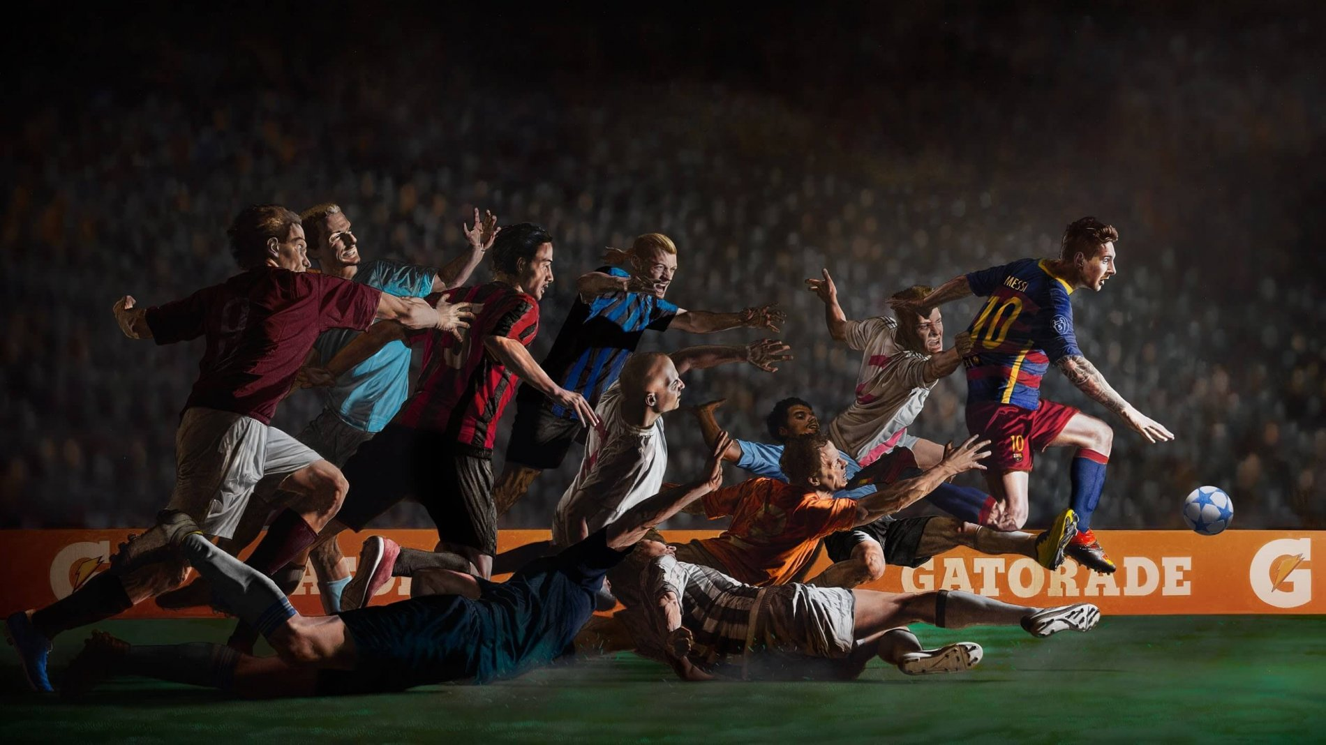 Gatorade & Messi – Don't Go Down