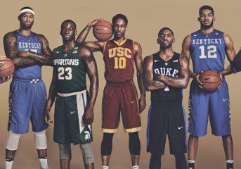 La March Madness NCAA et ses équipementiers