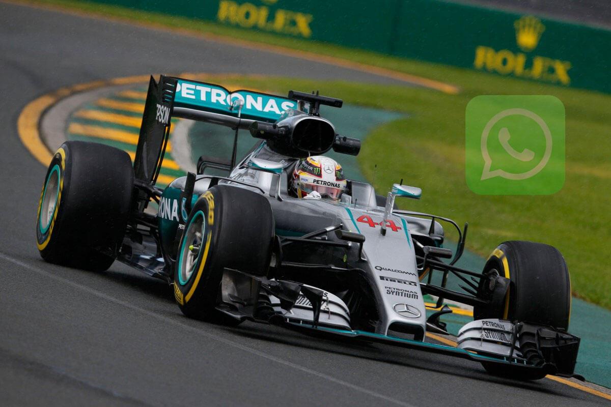 Mercedes-Benz connecte ses fans via Whatsapp
