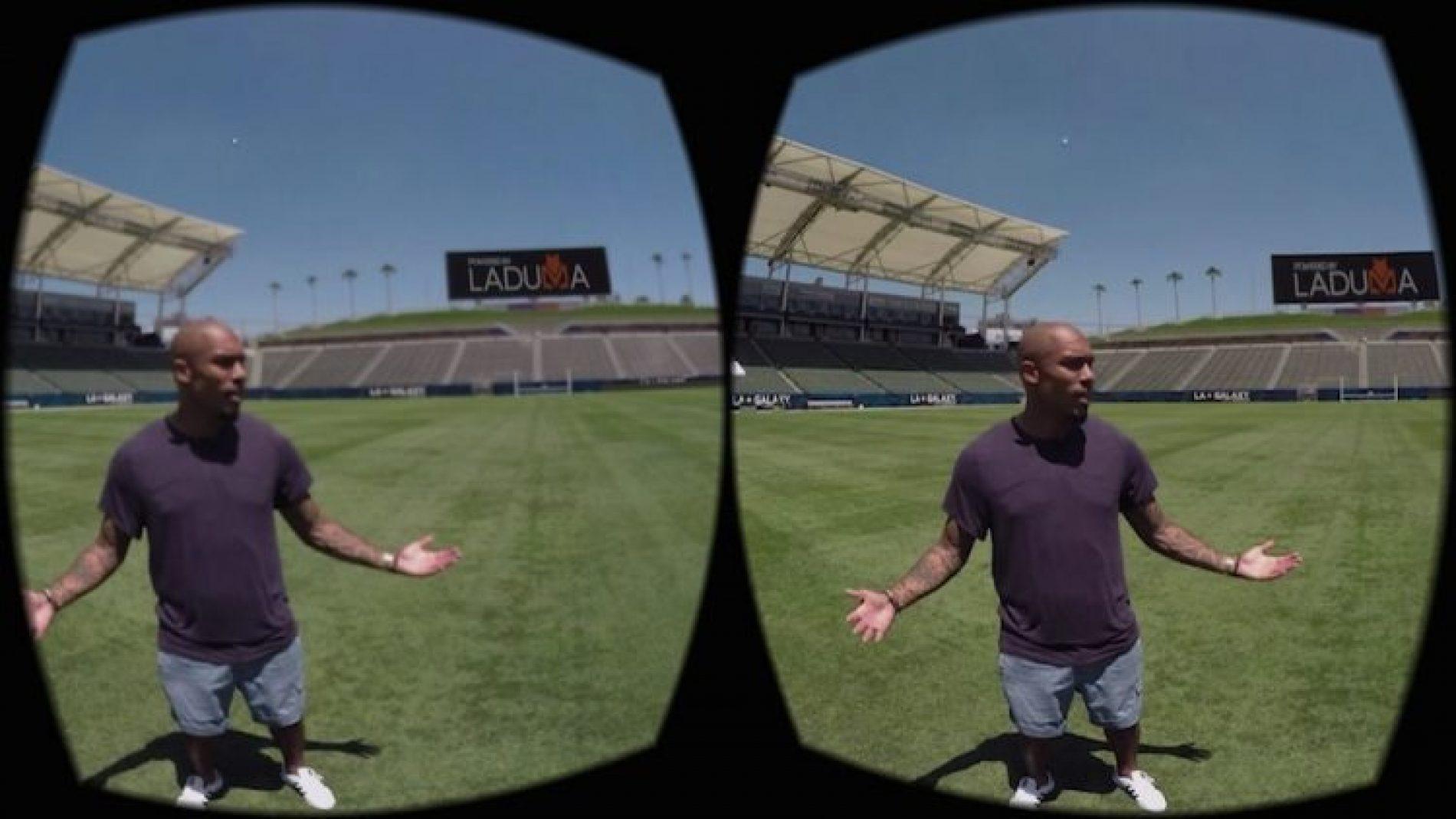Les stars du LA Galaxy en réalité virtuelle avec Laduma