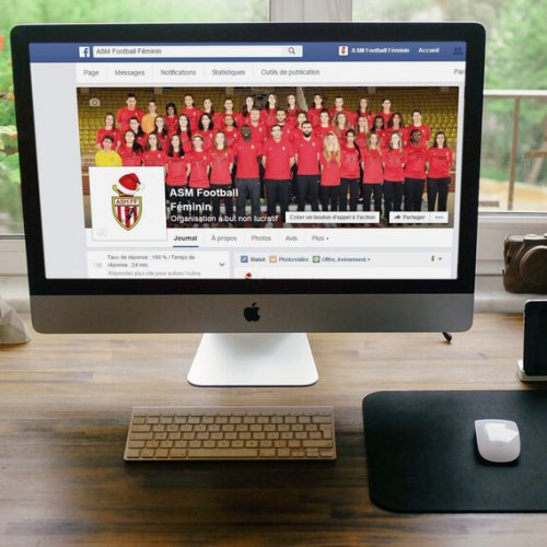 AS Monaco Football Féminin – exemple de communication digitale pour les clubs amateurs