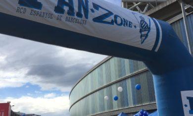 Fan zone du RCDE Stadium destinée aux fans de demain