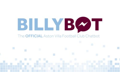 BillyBot le chatbot Facebook Messenger d'Aston Villa FC