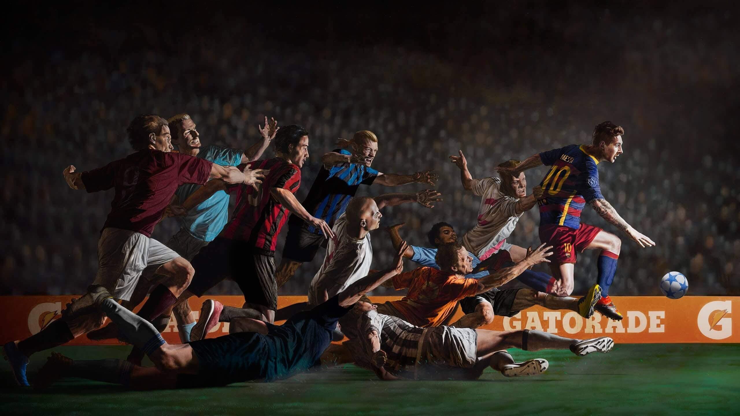 Gatorade & Messi