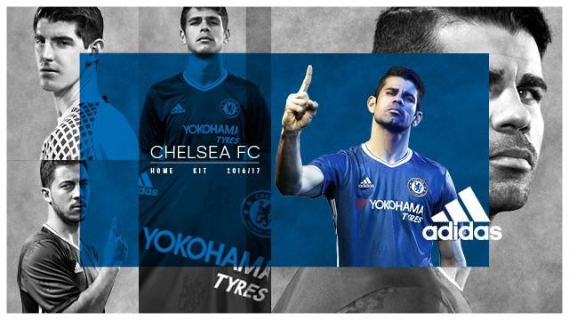 Chelsea dévoile ses nouveaux maillots via Facebook Live