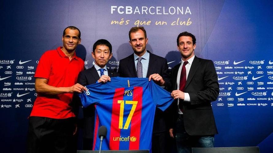 FC Barcelone et KONAMI