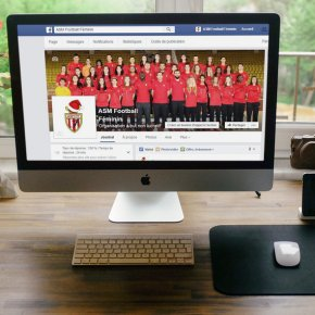 AS Monaco Football Féminin – communication digitale d'un club amateur