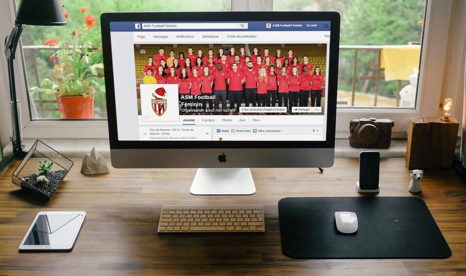 AS Monaco Football Féminin - communication digitale pour les clubs amateurs