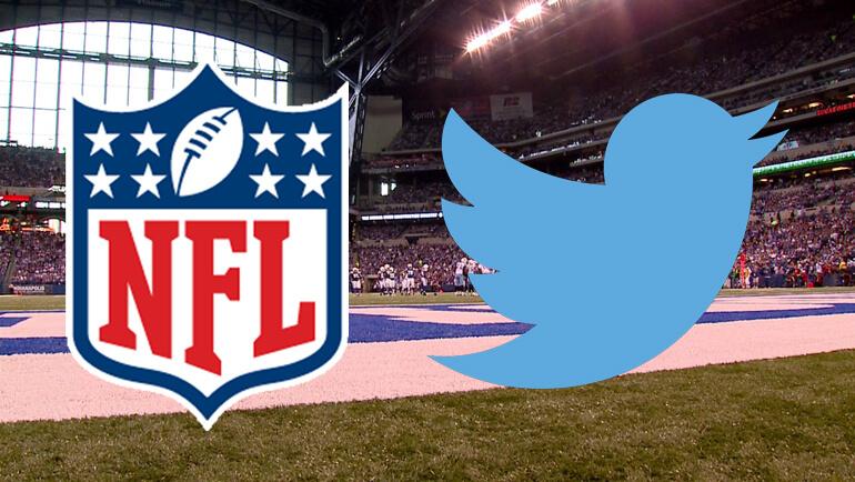 La diffusion de la NFL en live streaming sur Twitter