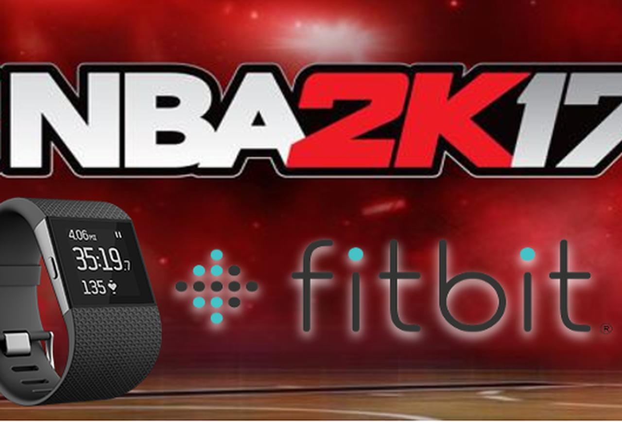 NBA 2K17 Fitbit