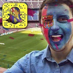 Des filtres Snapchat aux couleurs de clubs de football