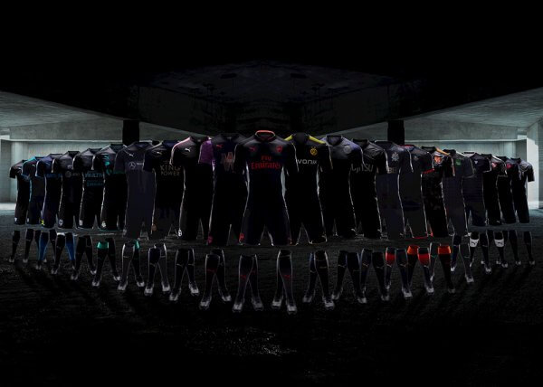 Une campagne de lancement géante pour les maillots PUMA