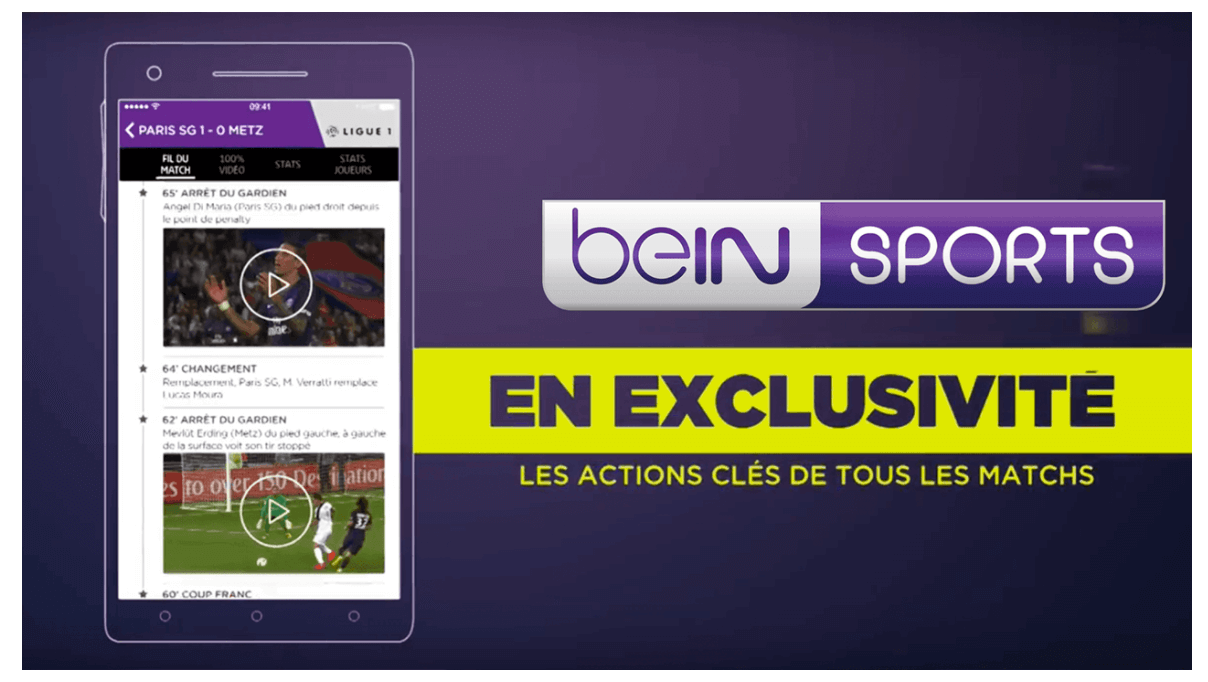 Wildmoka en charge de l'expérience fan mobile de beIN Sports France
