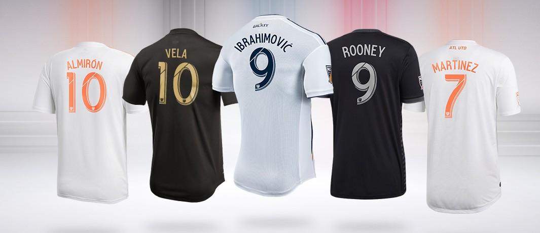 maillots de joueurs MLS les plus vendus