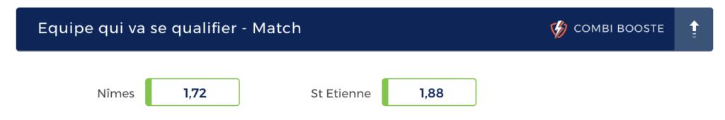Pronostic Nîmes Saint-Etienne