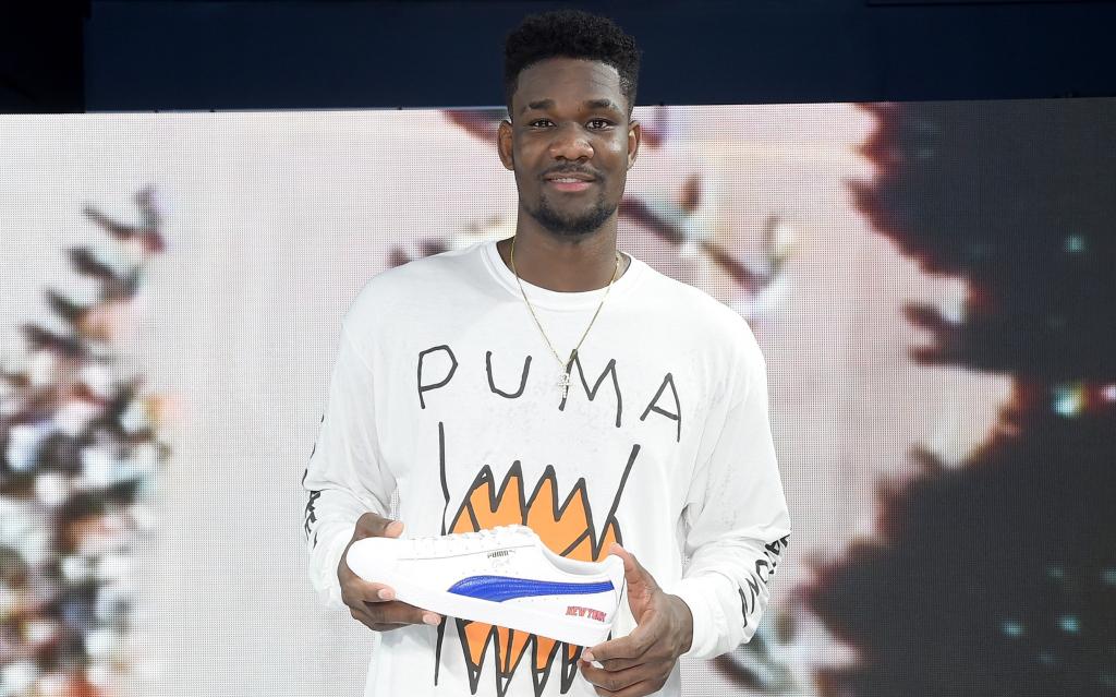 Sponsoring Puma NBA