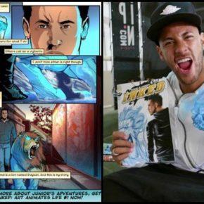 Une application sur la vie de Neymar sous forme de comics