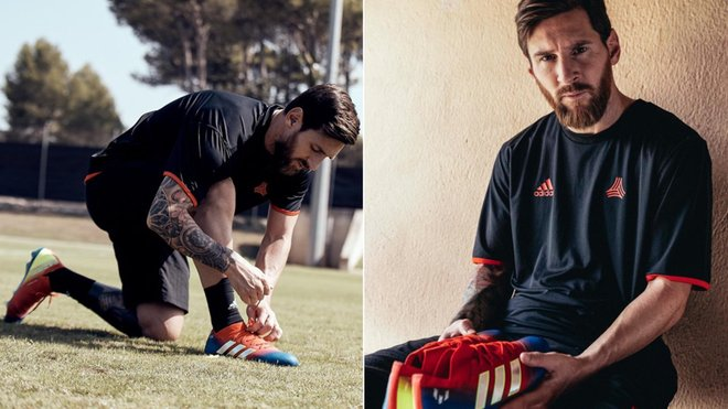 chaussures adidas de Messi