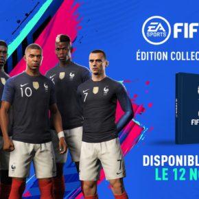 Une édition collector FIFA 19 pour les 2 étoiles de l'Équipe de France !