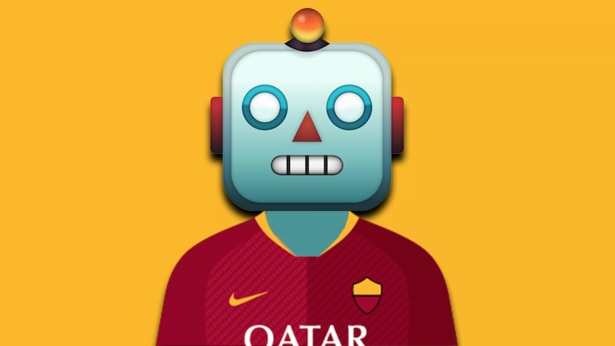 chatbot Facebook Messenger de l'AS Roma