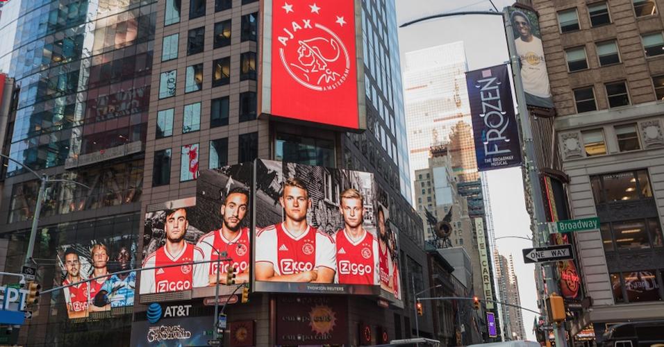La stratégie de l'Ajax Amsterdam