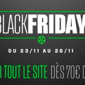 Des promotions sur les maillots de football pour le Black Friday !