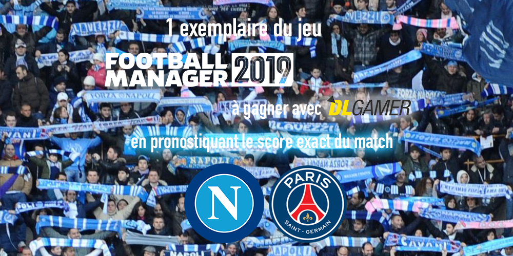 Football Manager 2019 à gagner