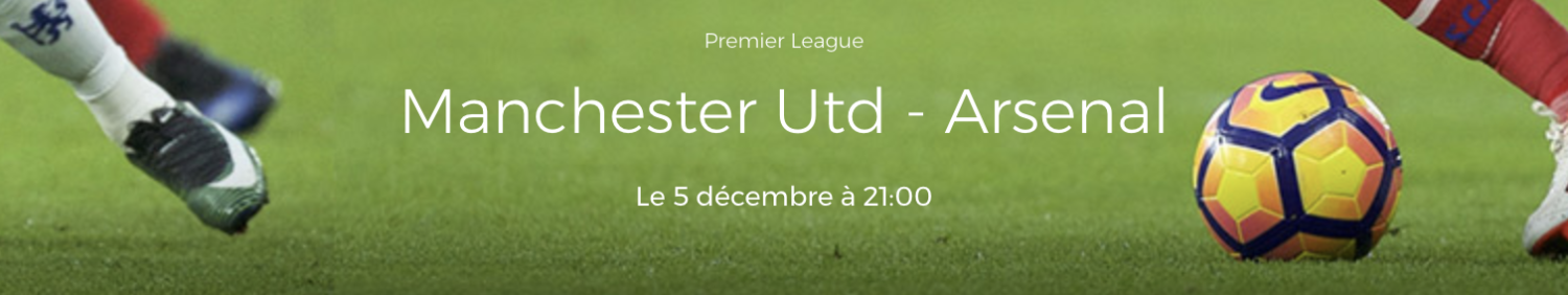 Pronostic Manchester United Arsenal