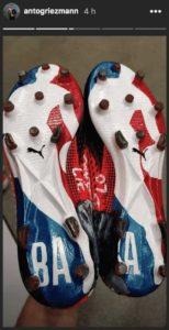 chaussures NBA d'Antoine Griezmann