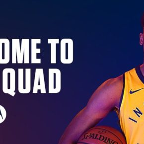 Motorola sponsor maillot NBA des Indiana Pacers