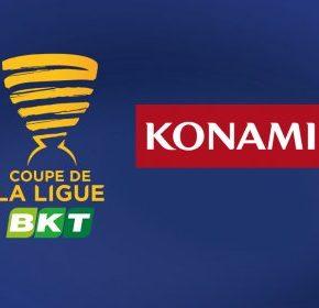 Konami nouveau partenaire majeur de la Coupe de la Ligue BKT