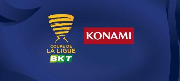 Konami partenaire de la Coupe de la Ligue