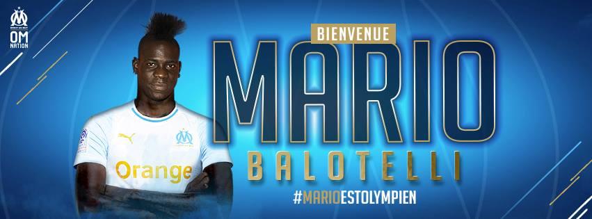 Mario Balotelli à l'OM