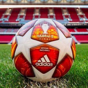 Le ballon de la finale de la Ligue des Champions 2019