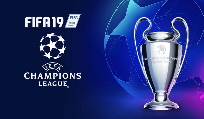 Ligue des Champions sur FIFA 19