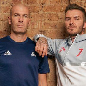 Nouvelle édition des adidas Predator de Zidane et Beckham pour les 25 ans de la collection.