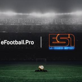 La compétition eSport PES eFootball.Pro diffusée sur la chaine ES1
