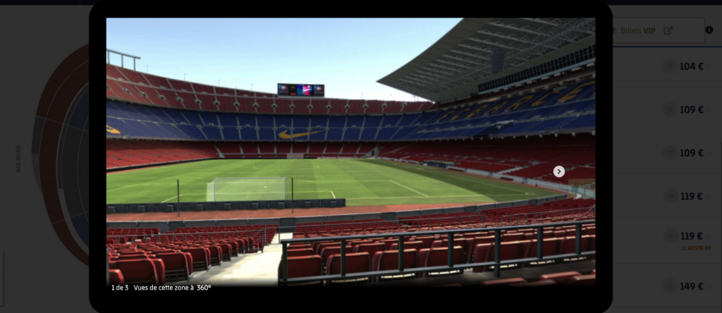 Billeterie Camp Nou