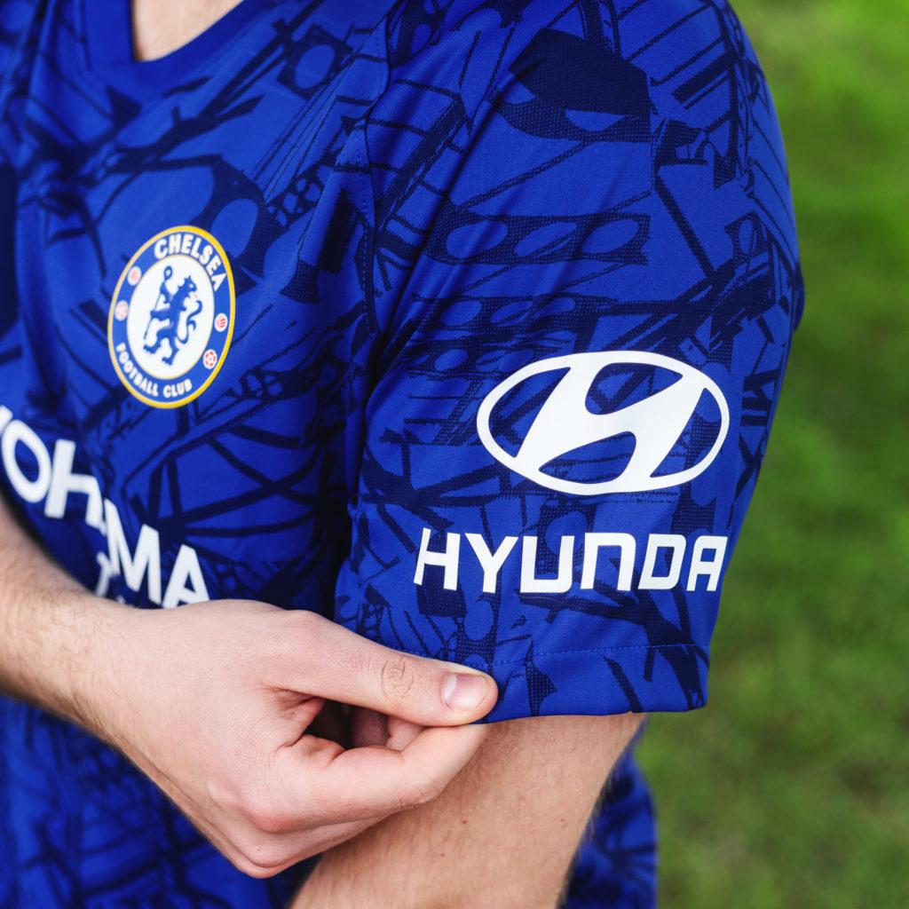nouveau maillot domicile de Chelsea