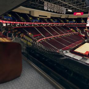 Fan experience Cleveland Cavaliers: l'espace VIP en visualisation 3D