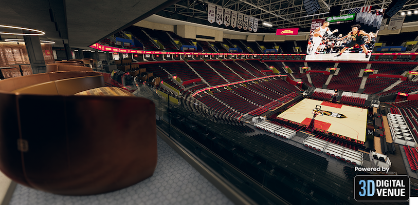 Fan experience Cleveland Cavaliers