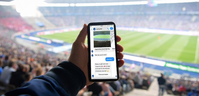 ticketbot messenger intelligence artificielle