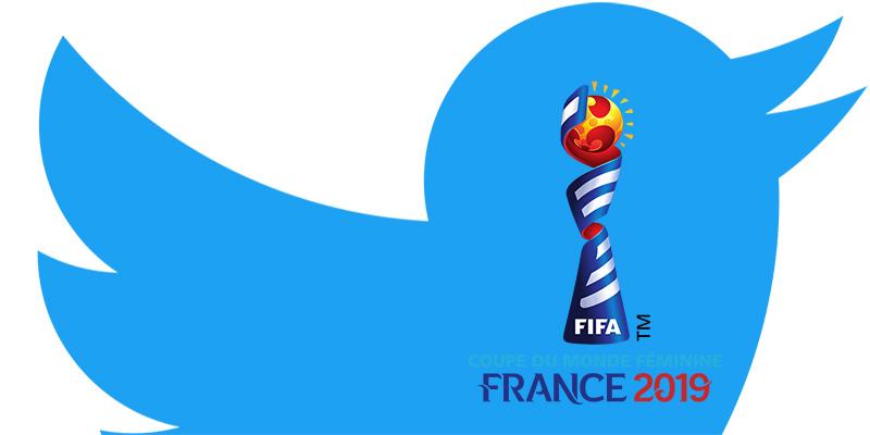 Coupe du Monde 2019 sur Twitter