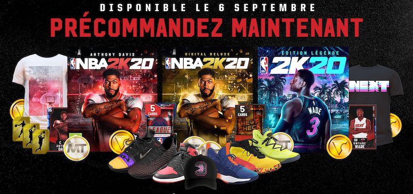 couverture de NBA 2K20