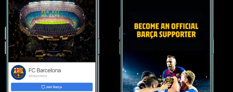 Barça Facebook premium