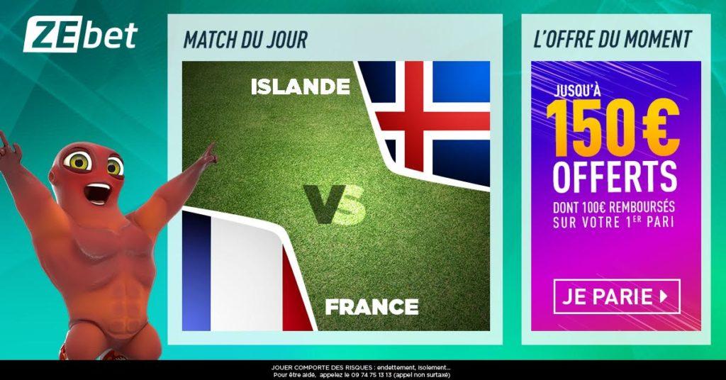 pronostic Islande France