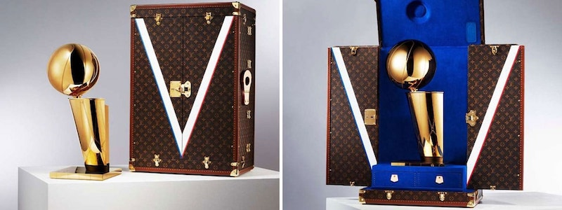 partenariat Louis Vuitton NBA