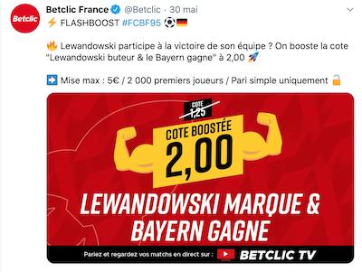 Cote boostée Bundesliga